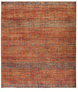 Eclectic Area Rug, 9' 4 x 8' 4