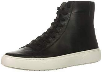 TCG Men's Premium Shoe Logan All Leather High Top Laces Sneaker