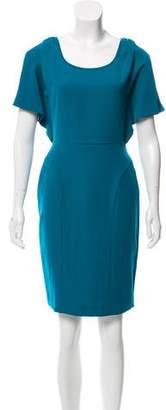 Rachel Zoe Cap Sleeve Knee-Length Dress
