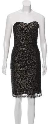 Rebecca Taylor Strapless Lace Dress