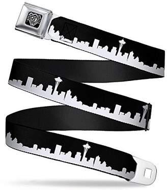 Buckle-Down Unisex-Adults Seatbelt Belt Seattle Regular