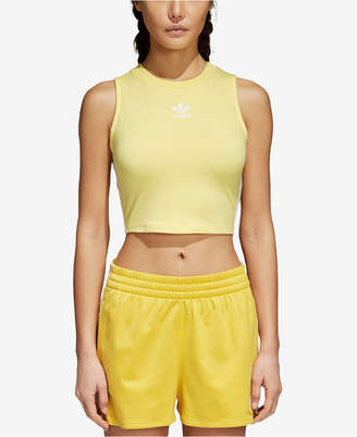 adidas adicolor Cotton Cropped Tank Top