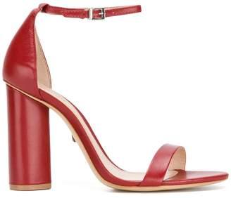 Schutz block heel sandals