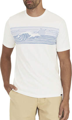 Faherty Men's Wave-Print T-Shirt