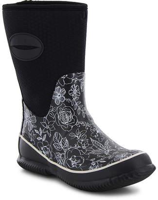 Western Chief Sketch Floral Womens Waterproof Rain Boots