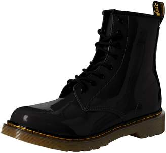 Dr. Martens Youth Delaney 8-Eyelet Leather Boots 5 M US Boys / 6 US