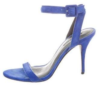 Alexander Wang Suede High-Heel Sandals