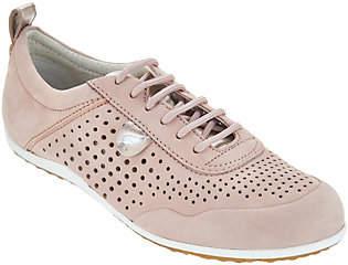 Geox Perforated Nubuck Sneakers - Vega