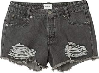 RVCA Junior's The BF Denim Jean Short