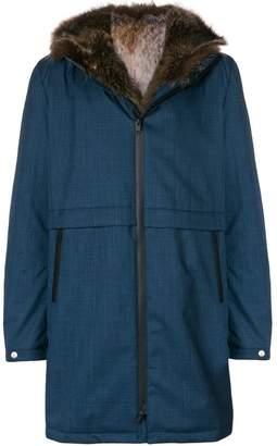 Liska longsleeved front fastened coat