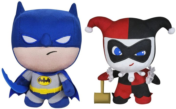 Funko DC Comics Fabrikations 2 Pack: Batman and Harley Quinn