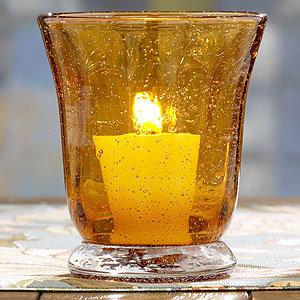 amber Toscana Votive, Set of 2