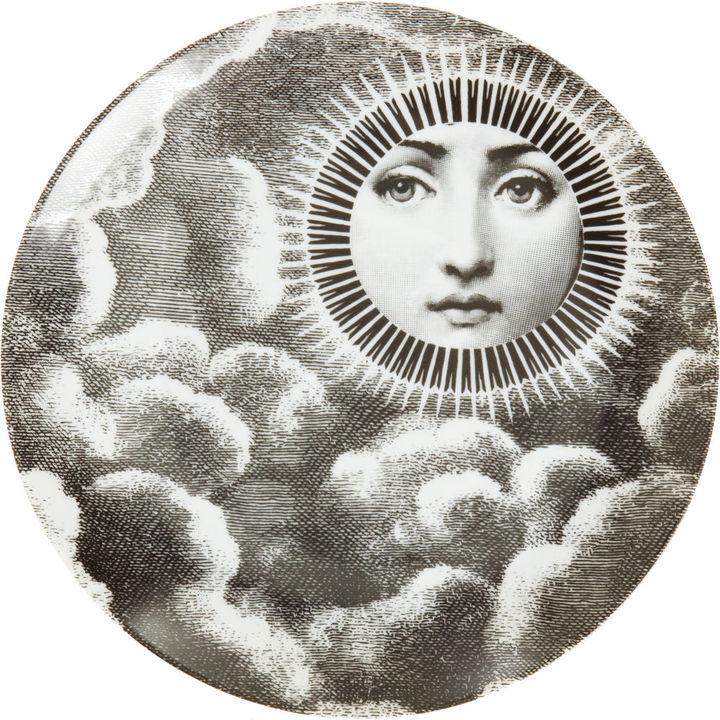 Fornasetti Theme & Variation Plate #101