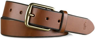 Polo Ralph Lauren Men's Leather Saddle Belt