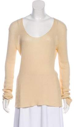 The Row Long Sleeve Knit Top