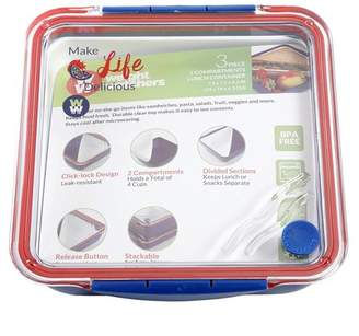 Weight Watchers Laville To Go Lunch Box with 3 Removable Compartments