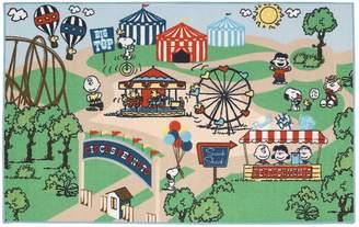 "Peanuts Friends Circus Rug - 39"" x 63"""