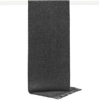 Reiss Obain Textured Wool Scarf
