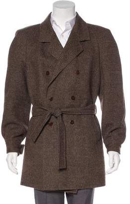 Gucci Vintage Wool & Alpaca Coat