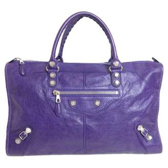 Balenciaga Work Leather Handbag