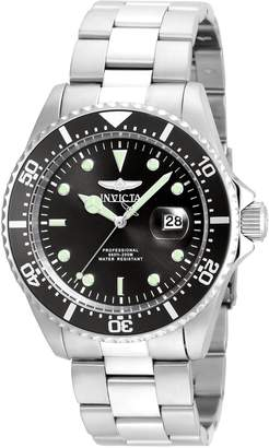 Invicta Men's 'Pro Diver' Quartz Stainless Steel Casual Watch (Model: 22047SYB)