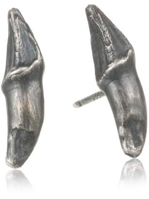 Melissa Joy Manning Criminal 737 Sterling Flying Fox Claw Post Stud Earrings
