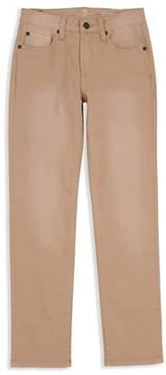7 For All Mankind Boys' Stretch Twill Slimmy Jeans in Khaki - Big Kid