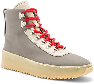 Fear Of God Nubuck Leather Hiking Sneakers