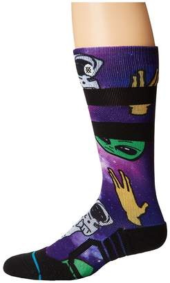 Stance Space Out Men's Crew Cut Socks Shoes