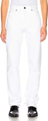Calvin Klein Stretch Jeans in Optic White | FWRD