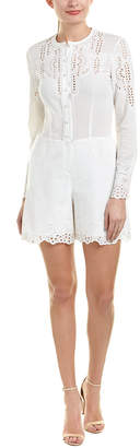 Yigal Azrouel Embroidered Romper