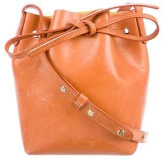 Mansur Gavriel Smooth Leather Bucket Bag