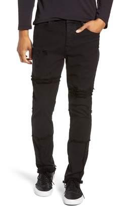 Hudson Jeans Vaughn Moto Skinny Fit Jeans