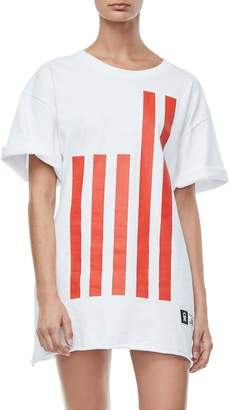 Good American Goodies Flag Tee
