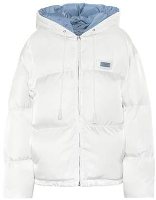 Prada Gabardine down jacket
