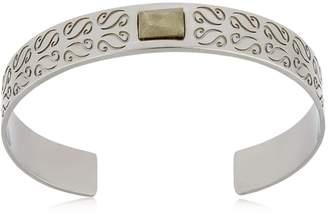 ara Cuff Bracelet With Pyrite
