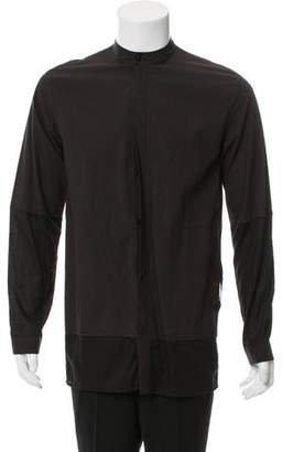 Damir Doma Two-Tone Button-Up Shirt