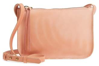 Madewell Simple Leather Crossbody Bag