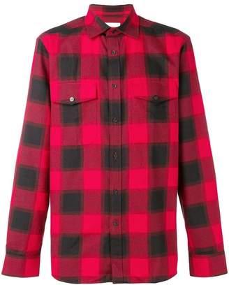 Calvin Klein checked shirt
