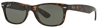 Ray-Ban RB2132 Unisex New Wayfarer Polarised Sunglasses