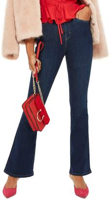 Topshop Jamie Petite Flared Jeans