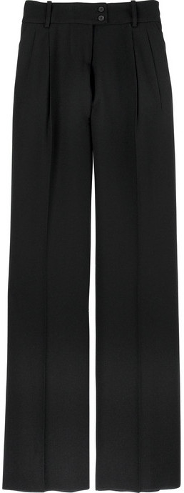 Alexander McQueen Wide-leg wool pants