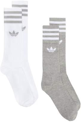 adidas Solid Crew socks (2 pack)