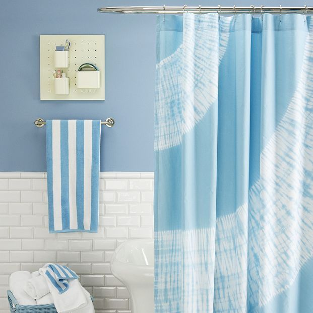 Oversized Tie-Dye Shower Curtain