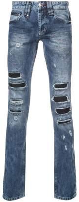 Philipp Plein (フィリップ プレイン) - Philipp Plein distressed jeans