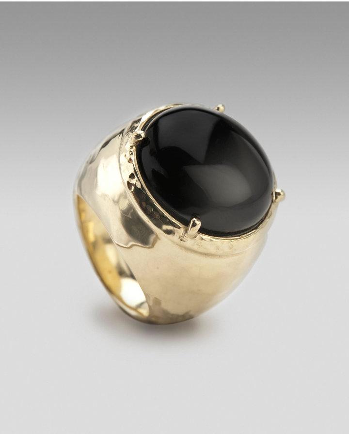 Ippolita Black Onyx Dome Ring
