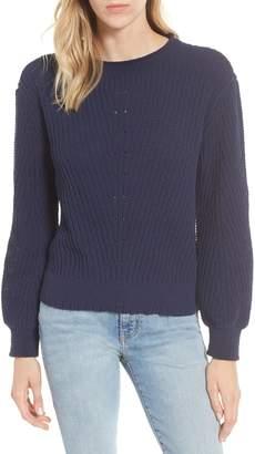Caslon Chenille Crewneck Sweater