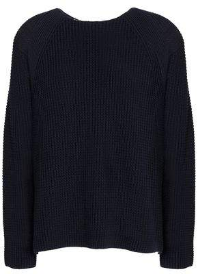 Vince Ribbed Cotton Sweater