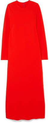 Maison Margiela Cady Maxi Dress - Red