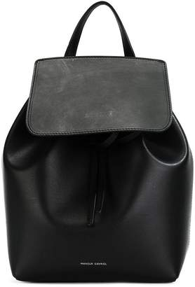 Mansur Gavriel vegetable tanned mini backpack